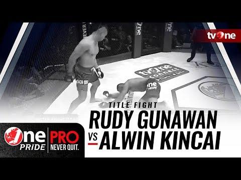 [HD] Rudy Gunawan vs Alwin Kincai    One Pride Pro Never Quit #23 - Title Fight