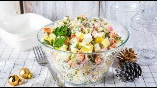 Как приготовить главный новогодний салат: классический рецепт оливье
