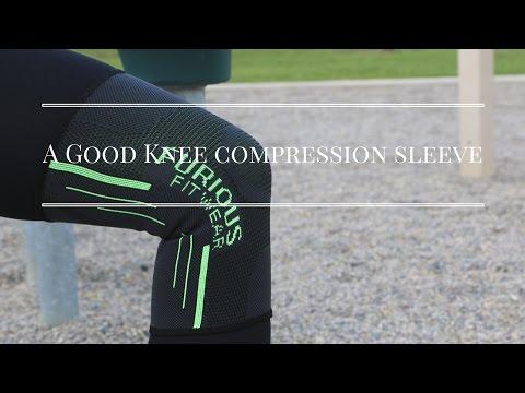 A good knee compression sleeve