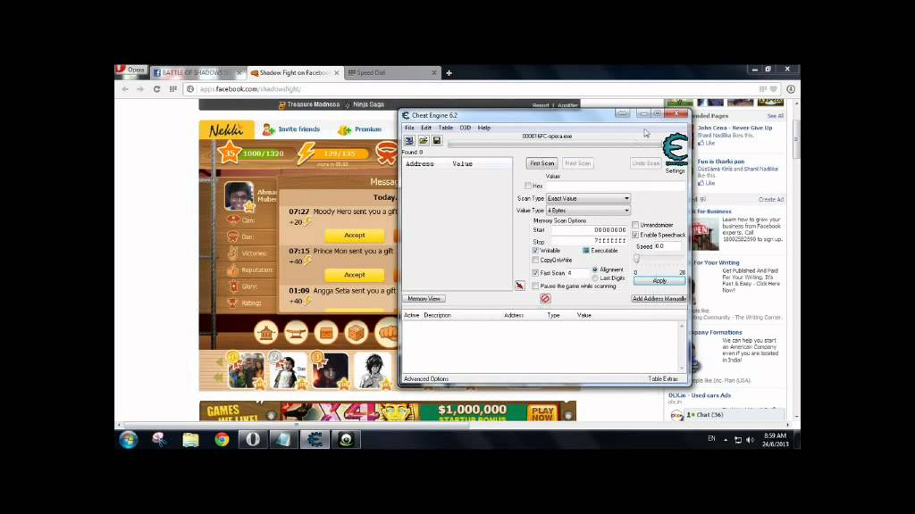 shadow fight hack software free