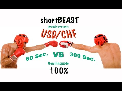 Binäre Optionen 60 Sek  vs 300 Sek  Optionweb USD:CHF  100%