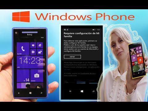 Tips-Problema de configuración familia Windows Phone error solución
