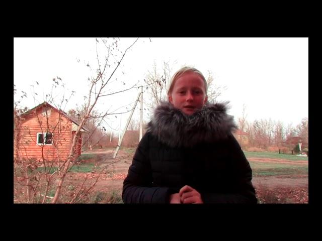 Изображение предпросмотра прочтения – ОльгаЛынова читает произведение «Нивы сжаты, рощи голы…» С.А.Есенина