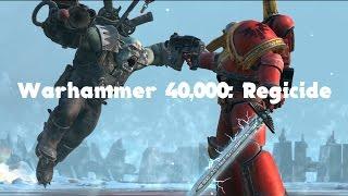 Обзор геймплея Warhammer 40000: Regicide | Первый взгляд