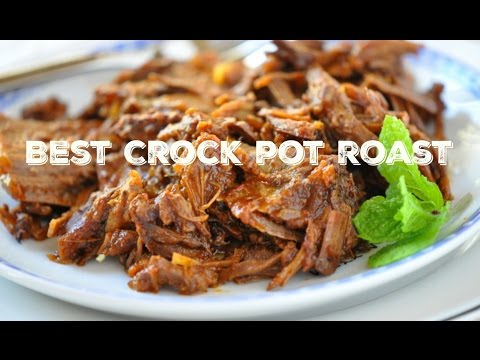 How to Make Easy Crock Pot Roast Recipe in the Slow Cooker