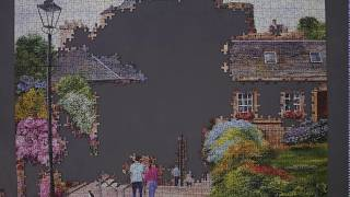 Gibsons Edinburgh The Vennel - Terry Harrison Jigsaw Puzzle Timelapse