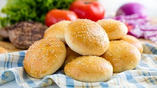 How to Make Homemade Hamburger Buns | The Stay At Home Chef