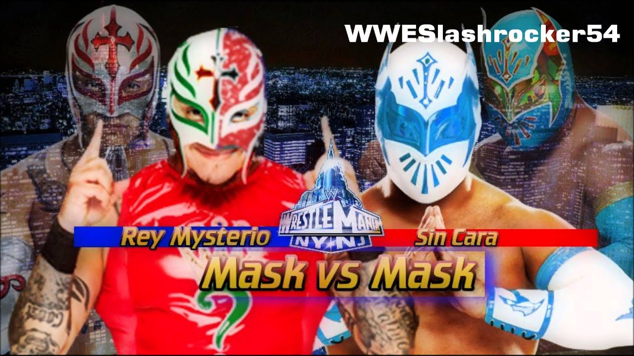 Sin Cara 2015 Wallpaper Wwe Sin Cara vs Rey