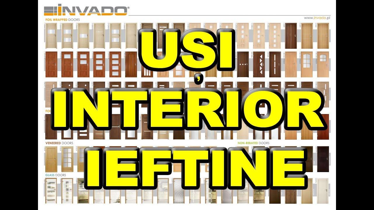 Usi interior lemn youtube for Usi de interior