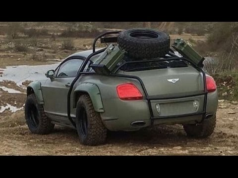 amazing this bentley jiggered to become the car offroad youtube. Black Bedroom Furniture Sets. Home Design Ideas