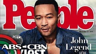 John Legend, kinilala bilang Sexiest Man Alive of 2019 ng People Magazine   UKG