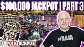$100,000 JACKPOT PART 3 ✦ Patreon Exclusive ✦ HIGH LIMIT SLOTS | The Big Jackpot