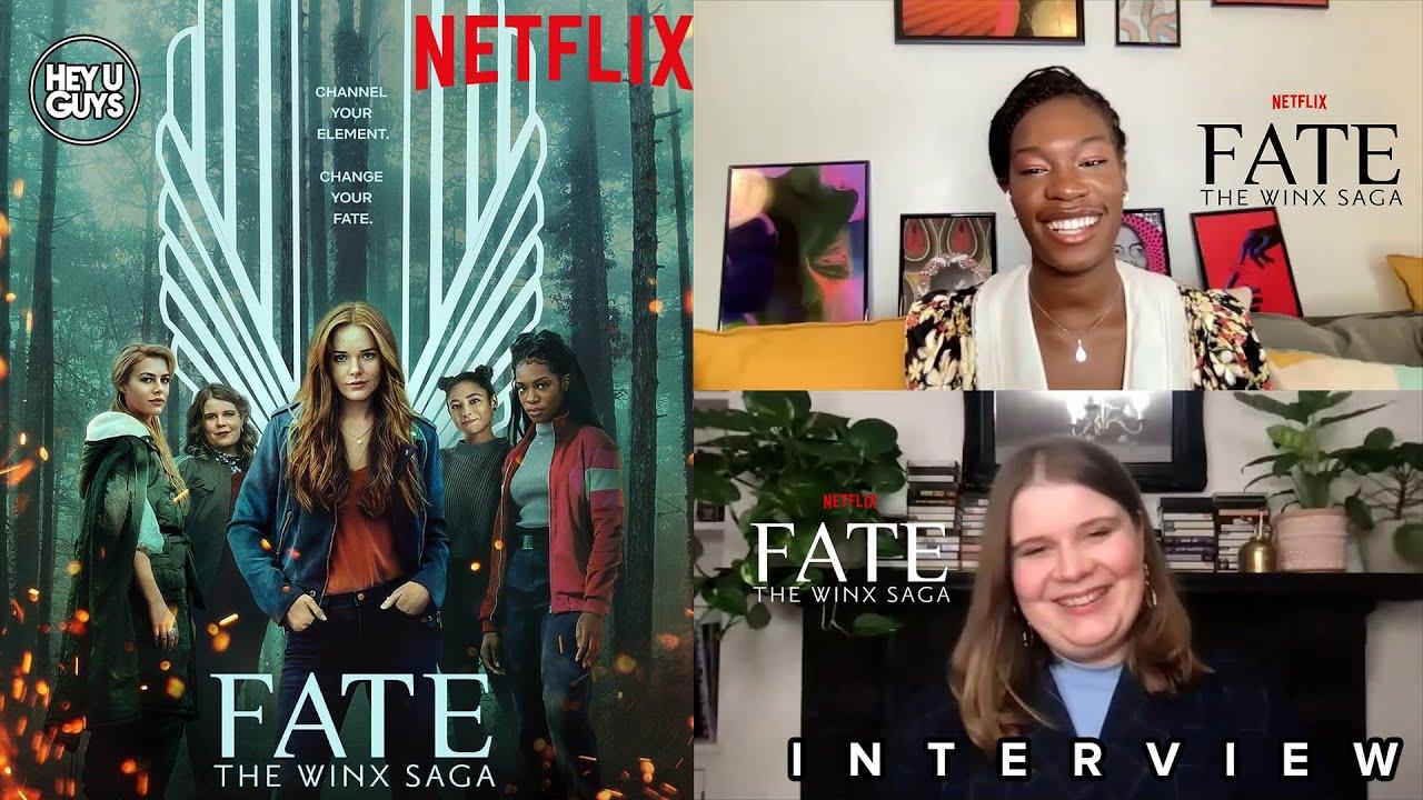 Fate The Winx Saga - Precious Mustapha & Eliot Salt on Netflix's big new YA  Fantasy - YouTube