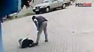 Denizli'de Dehşet Veren Görüntü Öldüresiye Dövdü - Denizli Haberleri - HABERDENİZLİ.COM