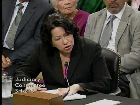 Sen. Cornyn Questions Judge Sotomayor at Confirmation Hearing