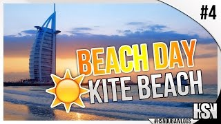 Dubai Vlogs | Vlog #4 | Beach Day at Kite Beach & NYE Prep!
