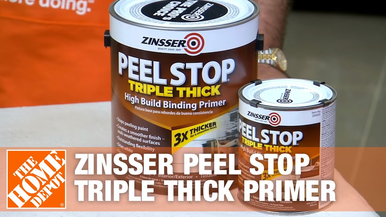 Zinsser Peel Stop Triple Thick Primer Youtube