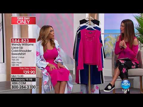 HSN | Wendy Williams Fashions 02.11.2018 - 08 AM