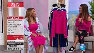 HSN   Wendy Williams Fashions 02.11.2018 - 08 AM