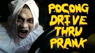POCONG DRIVE THRU PRANK INDONESIA!