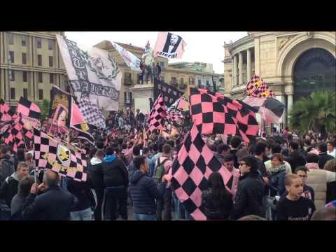 Festa Promozione Palermo Calcio In Serie A 2014 Filmato