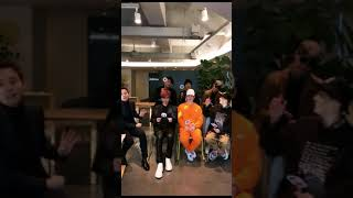 171118 SUPER JUNIOR❤️Doing Live on Weibo