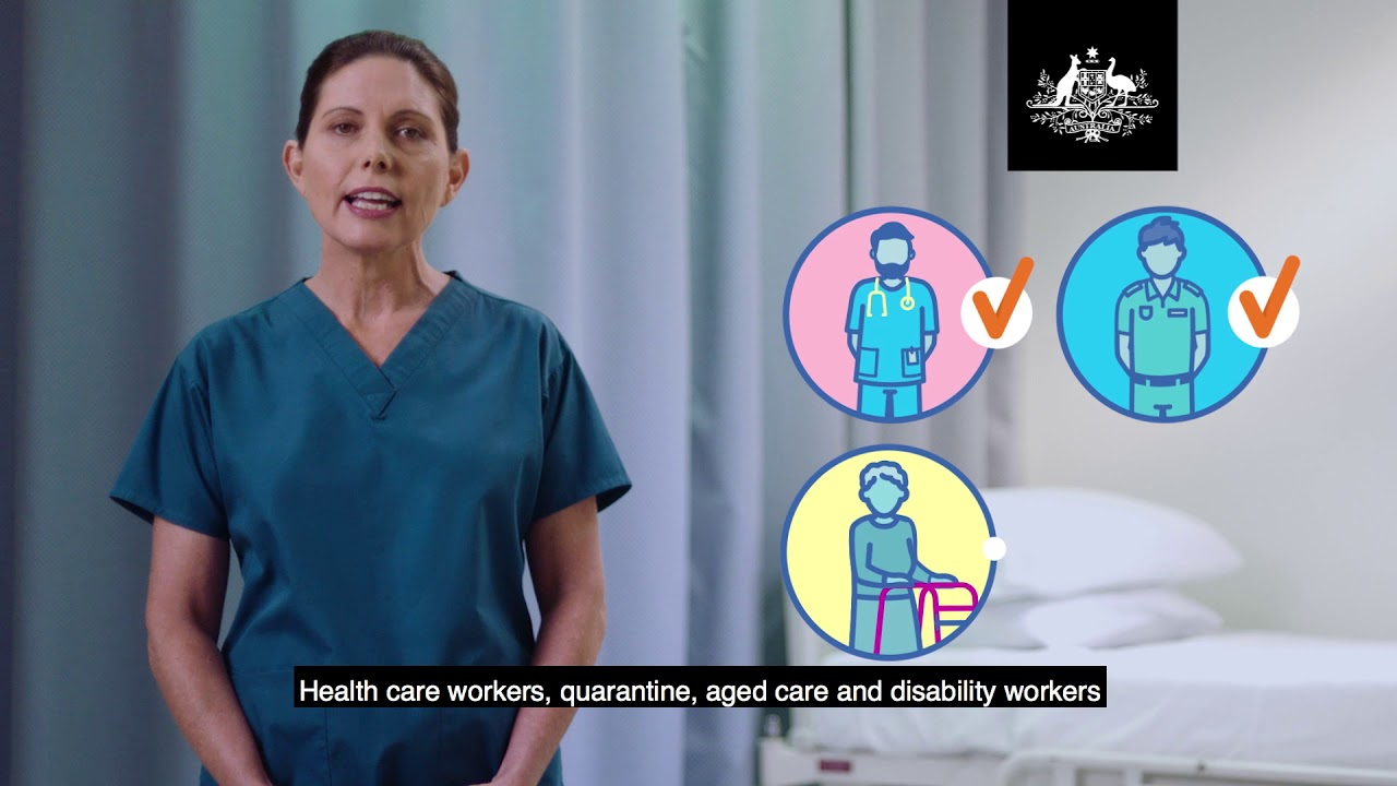 Australia's COVID-19 vaccine rollout – Phase 1a – Who will get the first vaccine.