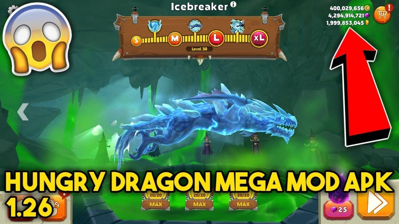 Hungry Dragon MEGA MOD APK 1 26