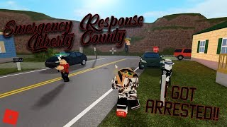 CRIMINAL ROLEPLAY!! || ROBLOX - Emergency Response Liberty County