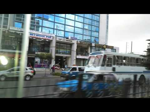 Addis Ababa. View from tourist bus