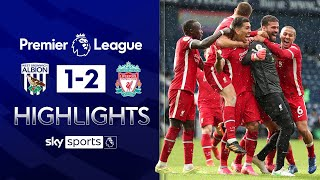 Goalkeeper Alisson scores 95th minute winner! | West Brom 1-2 Liverpool | EPL Highlights