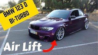 BMW 123D Bi-TURBO Air LIFT HARD CUT - Portugal Stock and Modified Car Reviews