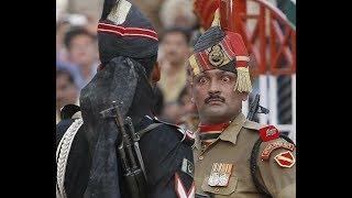 Индия Пакистан танец пограничников