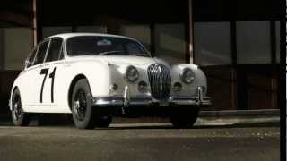 Jaguar MK II 3.8 weiss 1961 at avintago