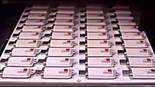 Печать на  USB - флешках в кожаном чехле.(, 2013-03-05T22:14:25.000Z)