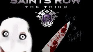 Jeff the Killer in Saints Row 3?? (SR3 Character creation) |Gomorrah plays Games|