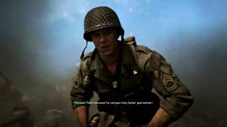 Call of Duty WWII Gameplay | 22 mins (no commentary just gameplay) Mission 3