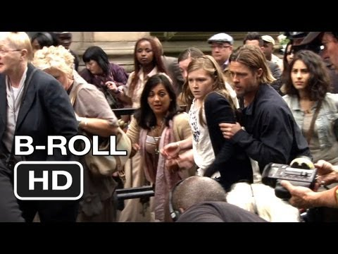 World War Z B-Roll #1 (2013) - Brad Pitt Movie HD