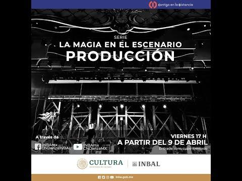 La magia en el escenario, cápsulas sobre producción escénica | Compañía Nacional de Danza