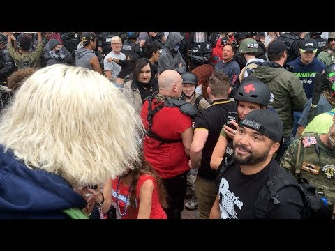 Seattle 'Patriot Prayer' Rally Remains Nonviolent As Gibson Invites Diverse Voices Onstage