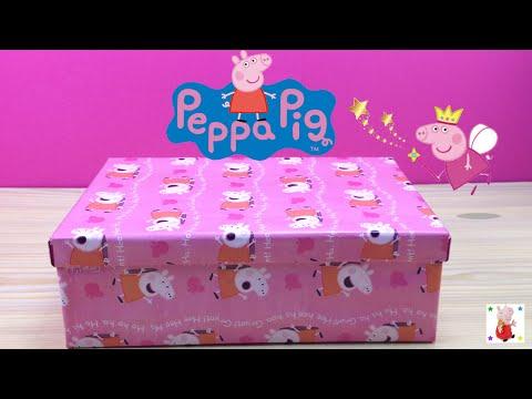 Caja sorpresa mágica de Peppa Pig en español | Juguetes de Peppa Pig | La cerdita Peppa
