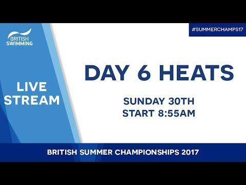 British Summer Champs 2017 – Day 6 Heats