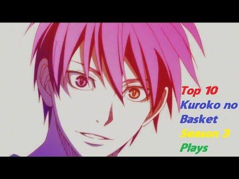 Top 10 Kuroko no Basket Season 3 Plays