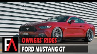 FUEL AUTOTEK Owners' Rides: 2017 Ford Mustang GT | TSW Avalon RF