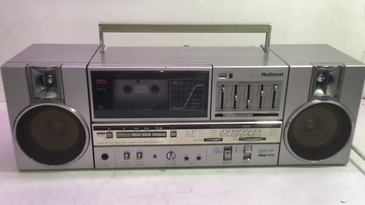 NATIONAL RX-C45FA Radio Cassette Boombox (AUX input) #1