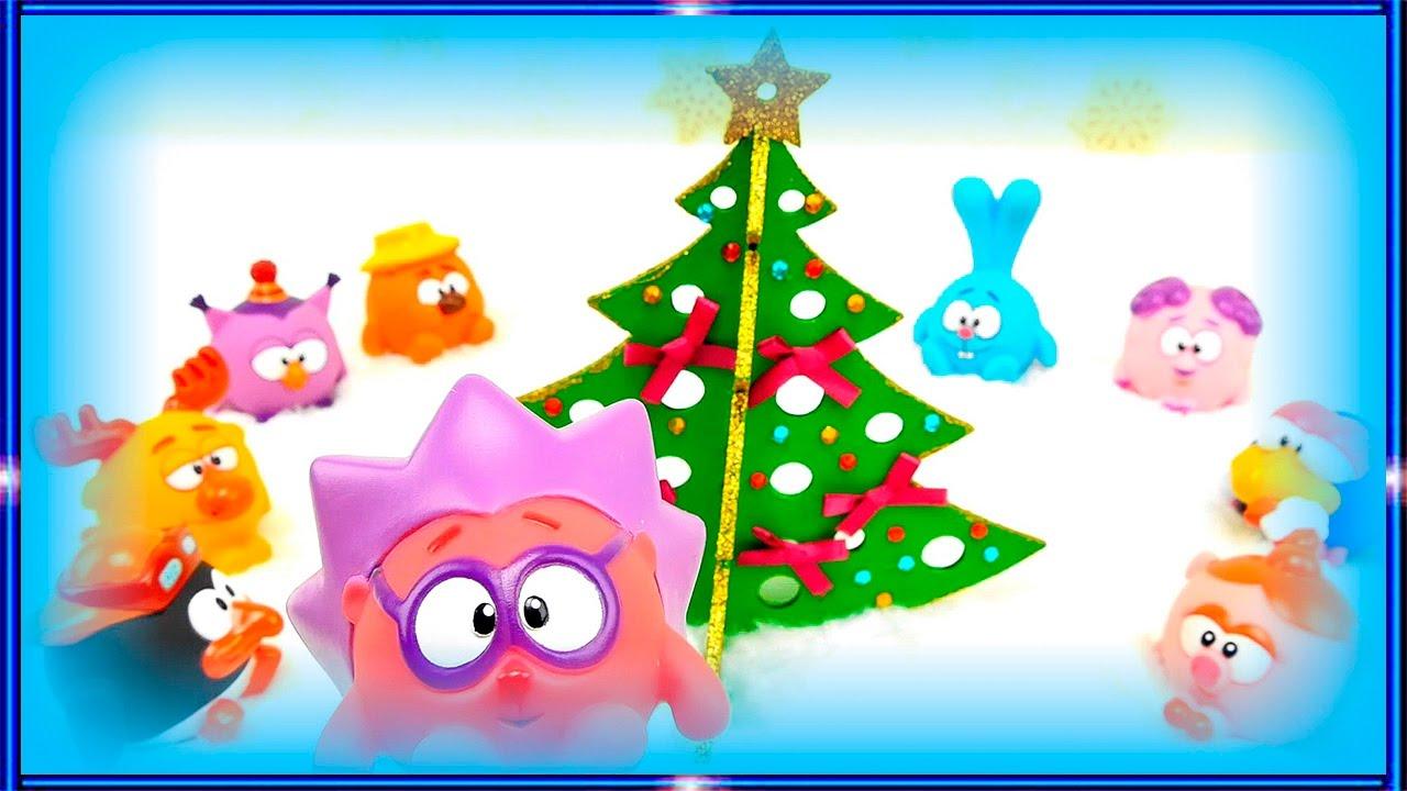 Мультики про Новый Год для самых маленьких детей. Машинки ...