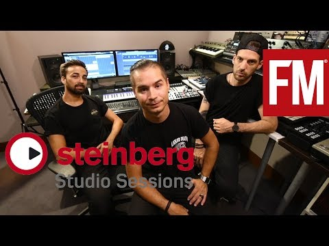 Steinberg Studio Sessions: Dirtyphonics – Part 1