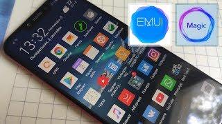 оболочка EMUI / Magic UI в смартфонах Huawei Honor