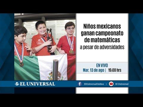 Niños mexicanos ganan campeonato de matemáticas a pesar de adversidades