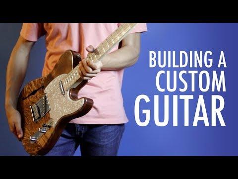 Building my Custom Guitar from Scratch